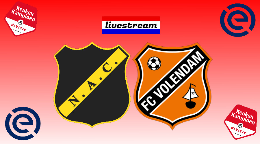 Play offs livestream NAC Breda - FC Volendam