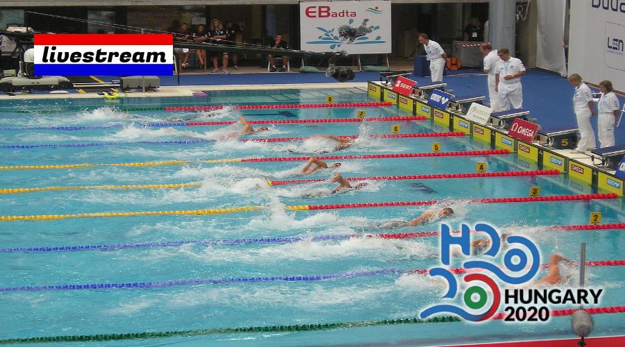 Programma en livestream EK Zwemmen Boedapest