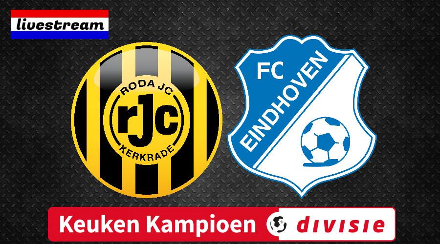 Roda JC - FC Eindhoven live stream