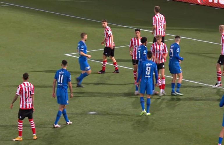Sparta met ruime cijfers langs Vitesse