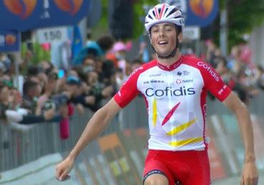 Lafay wint achtste etappe, Valter behoudt het roze