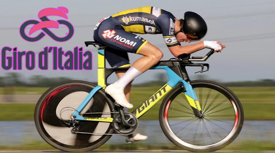 Voorbeschouwing en starttijden tijdrit Giro d'Italia (Foto Wikipedia)