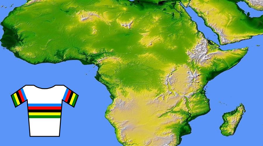WK wielrennen in 2025 in Rwanda of Marokko