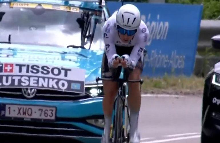 Aleksej Lutsenko wint tijdrit in Dauphiné