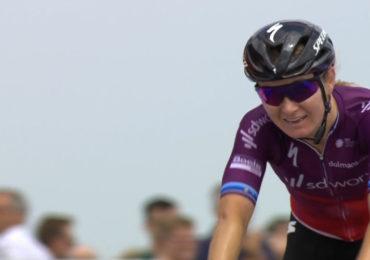 Amy Pieters verovert Nationale titel op de weg