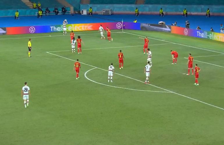 België knokt zich naar kwartfinale van het EK