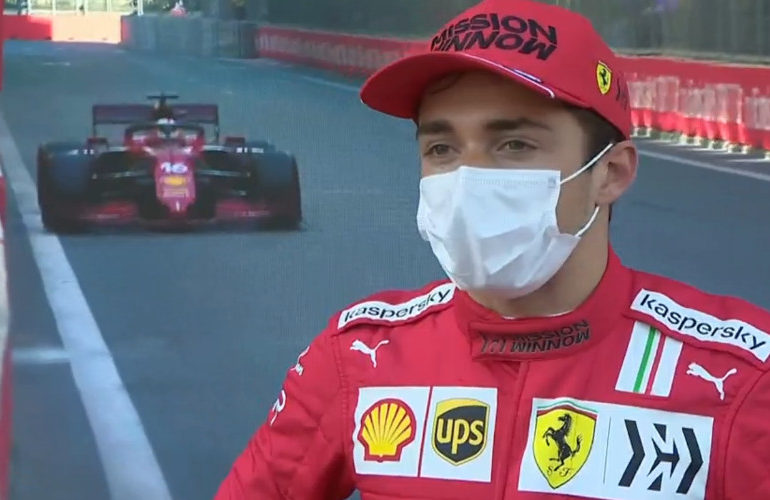 Pole voor Leclerc, Verstappen zondag vanaf P3