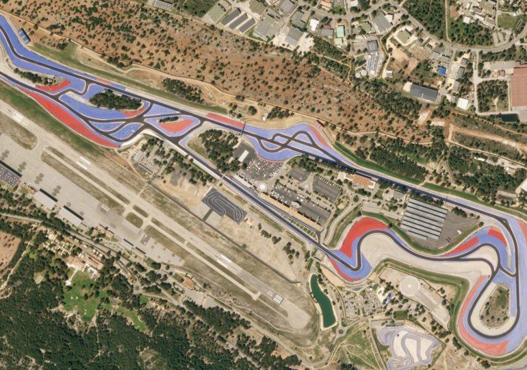 Startopstelling Grand Prix van Frankrijk