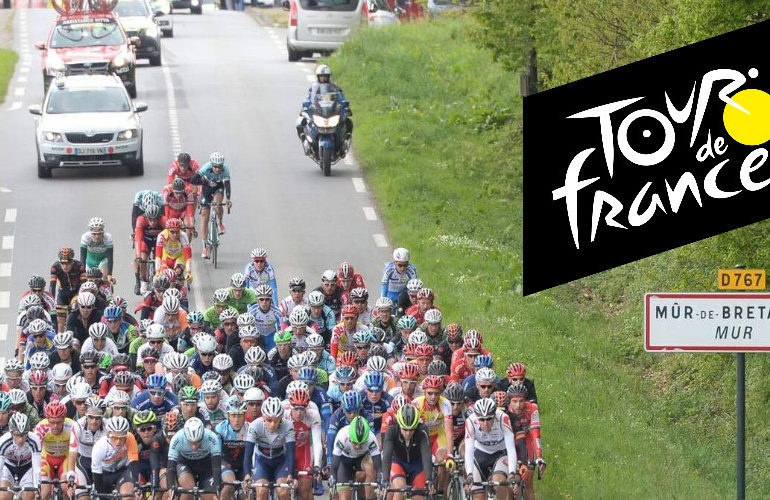 De Tour van vandaag: Finish op Mûr-de-Bretagne