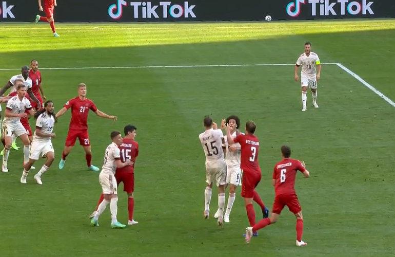 België met 2-1 te sterk voor knokkende Denen