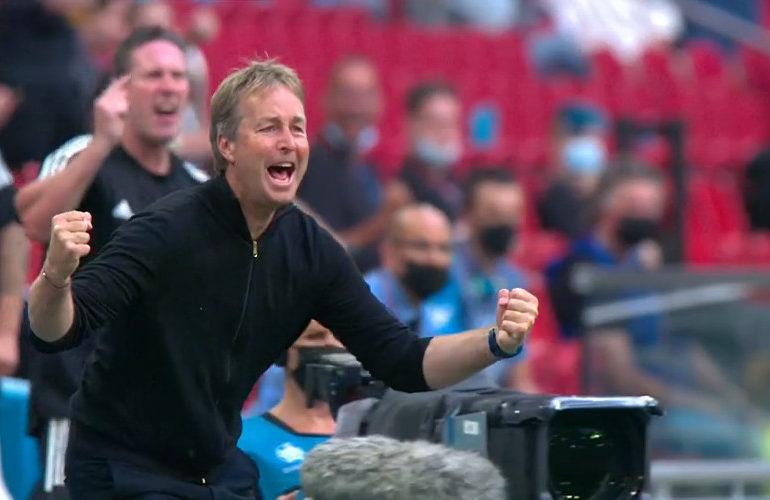 Denemarken naar kwartfinale EK Voetbal