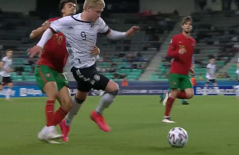 Jong Duitsland verslaat Jong Portugal in EK finale