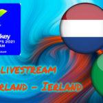 EK Hockey live stream Nederland - Ierland