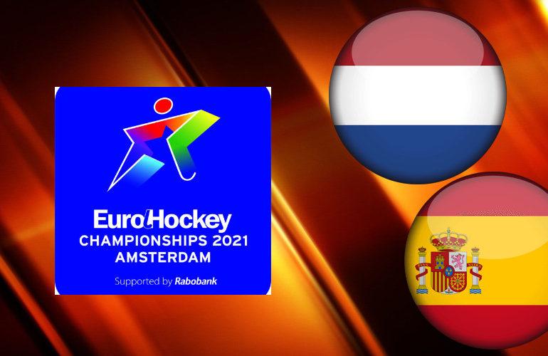 EK Hockey live stream Nederland - Spanje