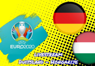 Euro 2020 live stream Duitsland - Hongarije