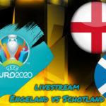 Euro 2020 live stream Engeland vs Schotland