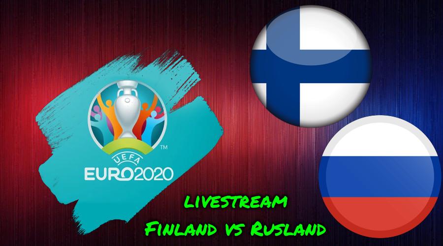 Euro 2020 live stream Finland vs Rusland