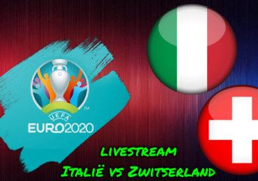 Euro 2020 live stream Italië - Zwitserland