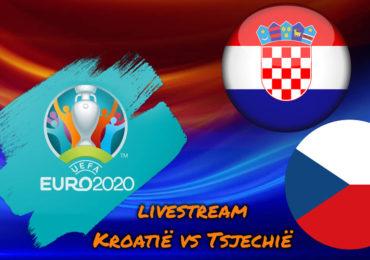 Euro 2020 live stream Kroatië - Tsjechië