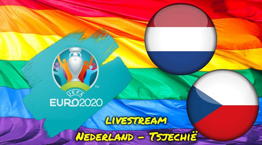 Euro 2020 live stream Nederland - Tsjechië