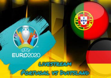 Euro 2020 live stream Portugal - Duitsland