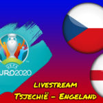 Euro 2020 live stream Tsjechië - Engeland