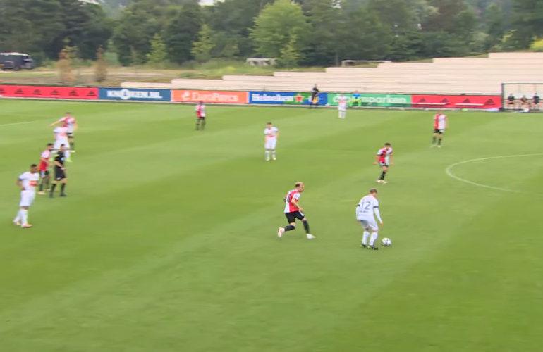 Feyenoord speelt gelijk tegen AA Gent