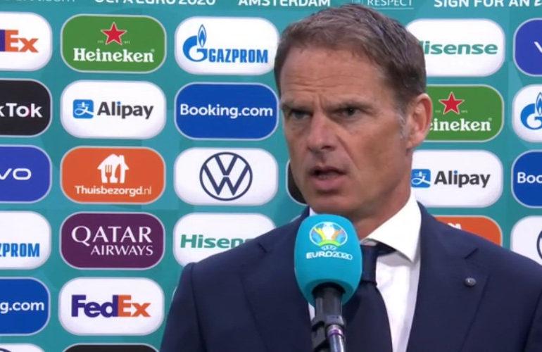 """De Boer: """"Ik ben positief gestemd richting de volgende wedstrijd"""""""