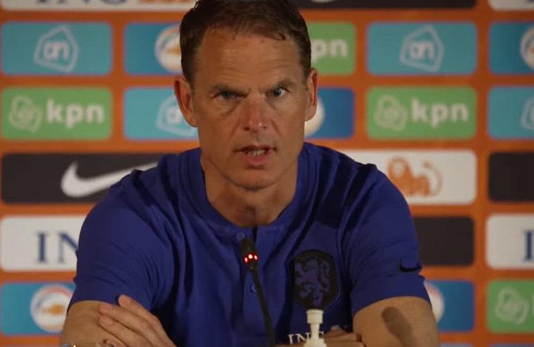 De Boer kiest voor 3-5-2 systeem tegen Schotten