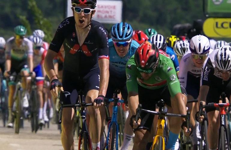 Geraint Thomas pakt etappezege in Dauphiné