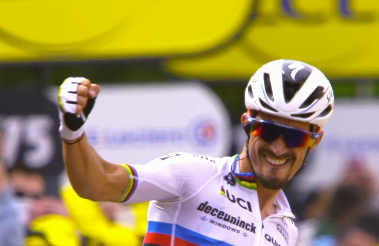 Samenvatting 1e etappe Tour de France 2021