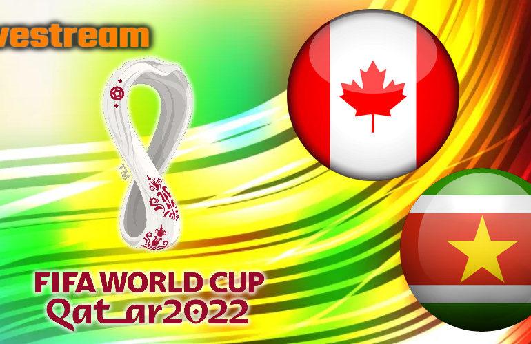Live stream Canada - Suriname