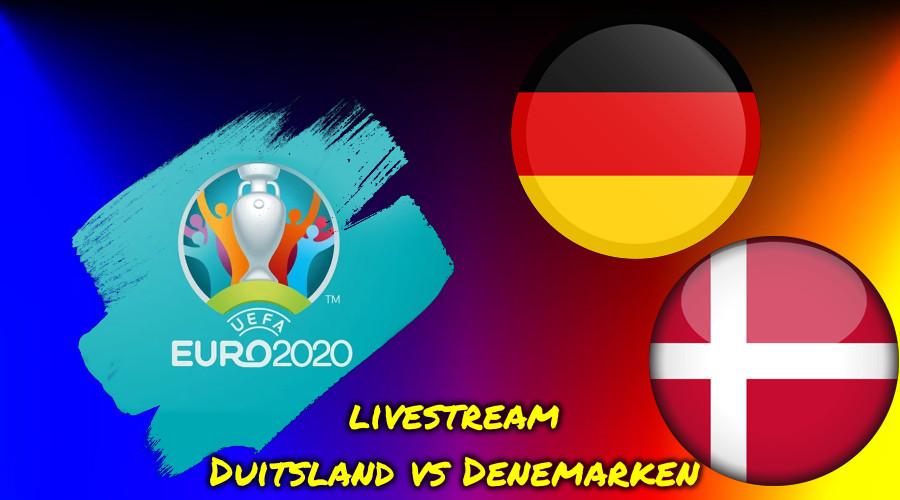 Live stream Duitsland vs Denemarken