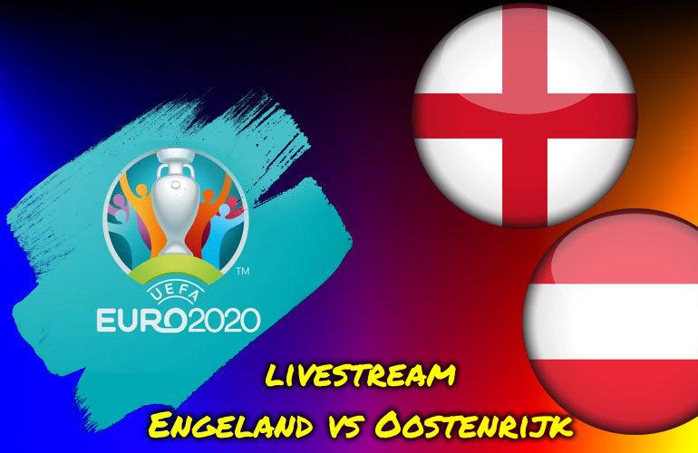 Live stream Engeland vs Oostenrijk