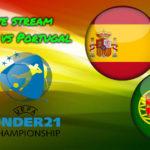 Live stream Spanje - Portugal EK voetbal