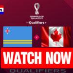 Livestream Aruba - Canada Qatar 2022 Qualifiers