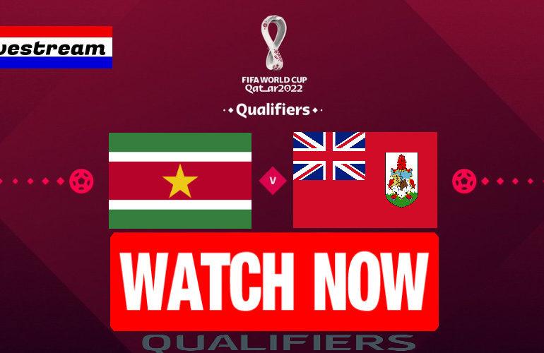 Livestream Suriname - Bermuda | Qatar 2022 Qualifiers