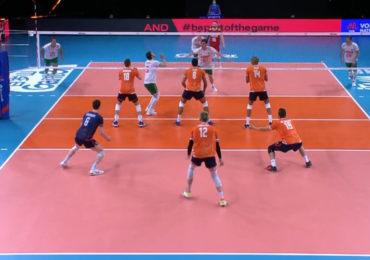 Volleyballers met 2-3 onderuit tegen Bulgarije