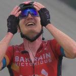 Padun wint etappe, Porte veroverd gele trui