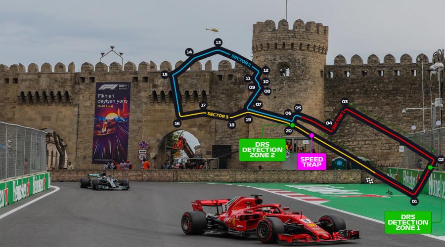 Programma Grand Prix Azerbeidzjan 2021 (Foto Wikimedia Commons)