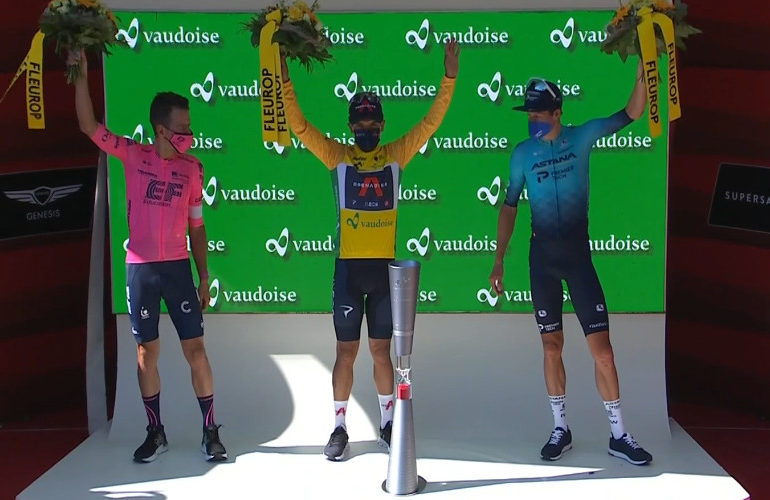 Richard Carapaz wint Ronde van Zwitserland