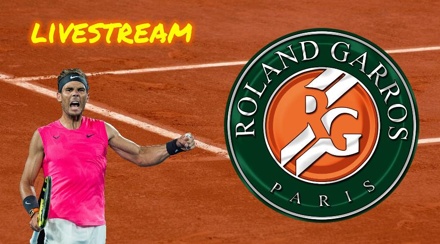 Roland Garros live stream Nadal - Schwartzman