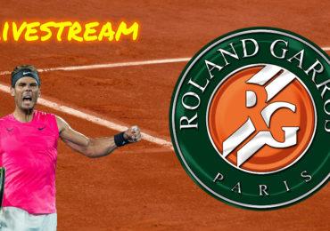 Roland Garros live stream Rafael Nadal - Cameron Norrie