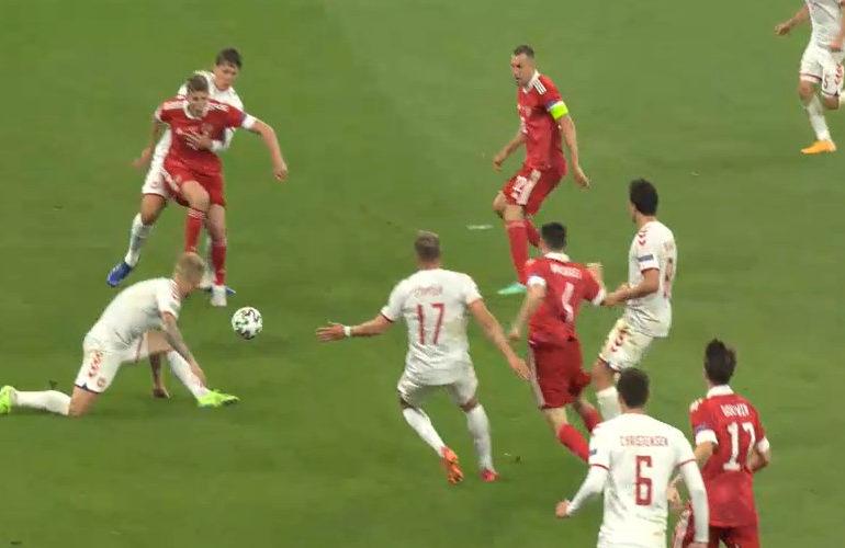 Denemarken naar achtste finale van het EK