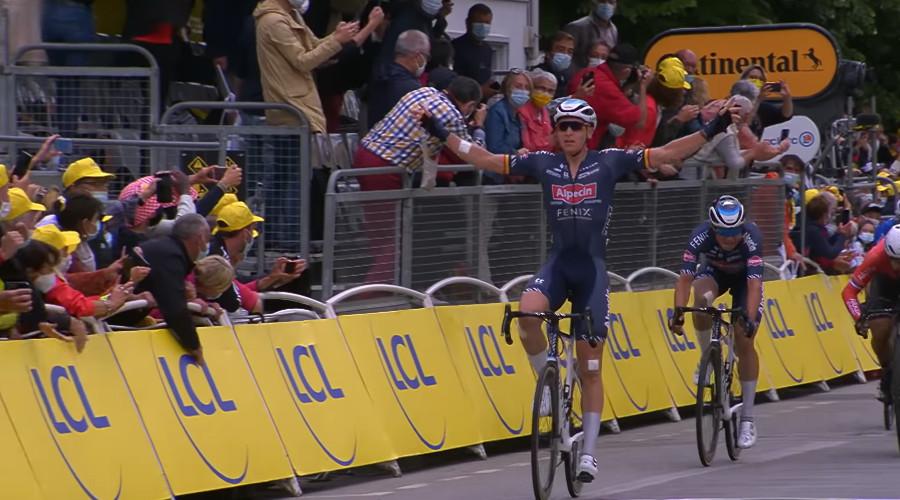 Samenvatting derde etappe Tour de France