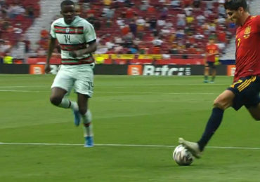 Geen doelpunten bij oefenduel Spanje - Portugal