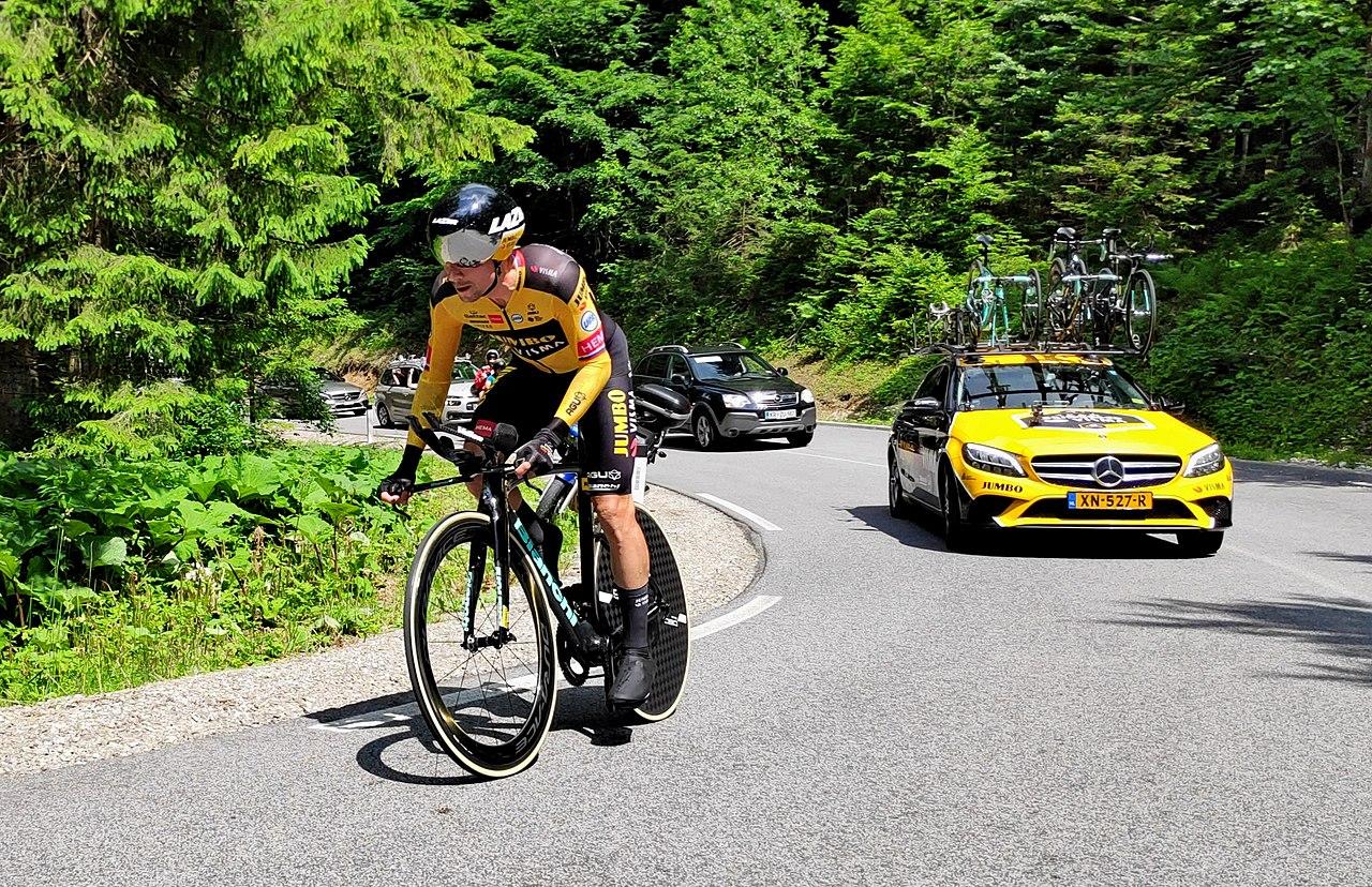 Starttijden tijdrit vijfde etappe Tour de France (Foto Wikipedia)