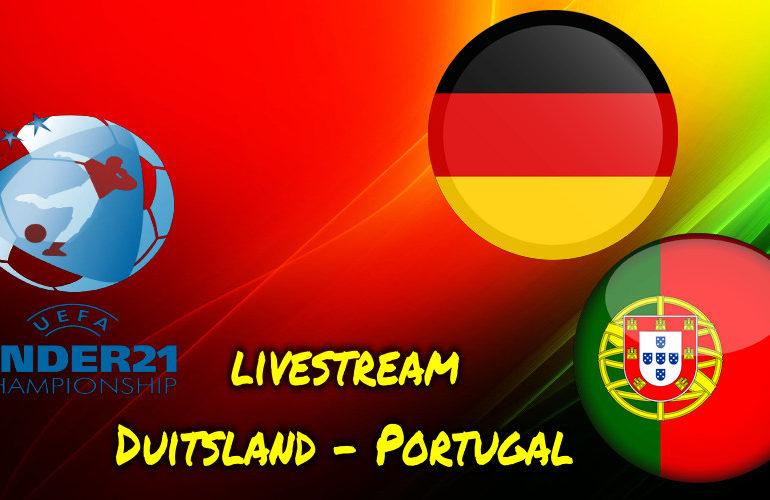 Under 21 live stream Duitsland - Portugal