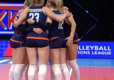 Volleybalsters met 3-1 te sterk voor Servië