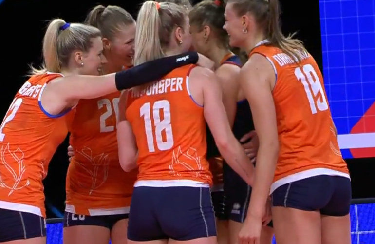 Belangrijke overwinning voor volleybalsters